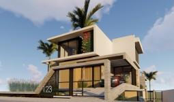 Casa Alto Padrão vista para a praia  de Garopaba !  - REF: 6685