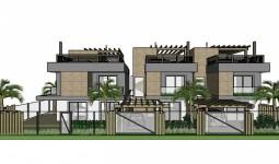 Casa/sobrado nova com 4 suítes no Centro de Garopaba - REF: 6636